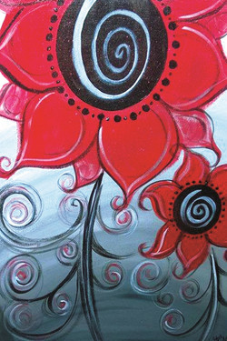 Whimsical Red