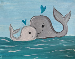 Mommy & Me Whales