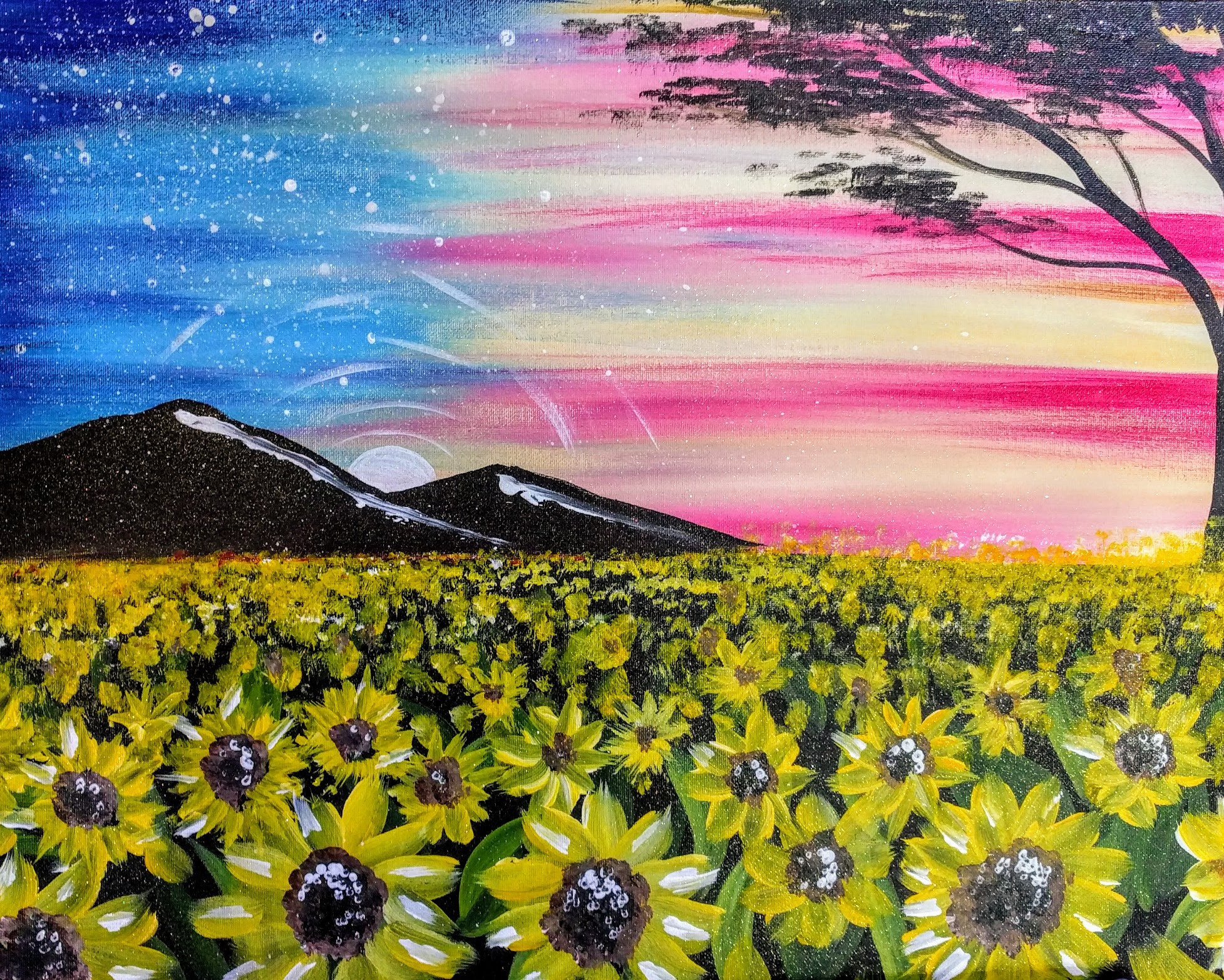 American Skies & Sunflower Fields