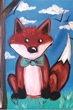 Fox in Bow Tie