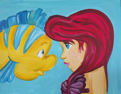Flounder & Ariel