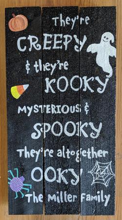 They're Creepy & Kooky