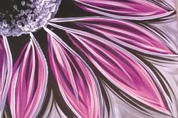 Purple Flower Burst