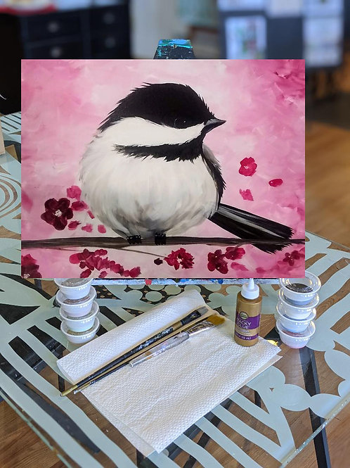 Canvas To-Go Kit: Spring Chirps