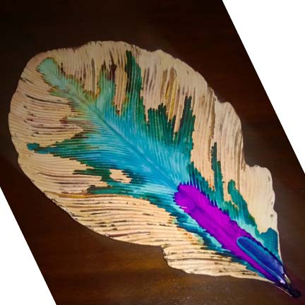 Feather Plate