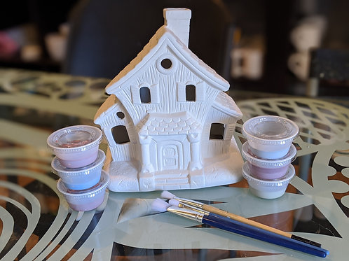Haunted House for Tea Light