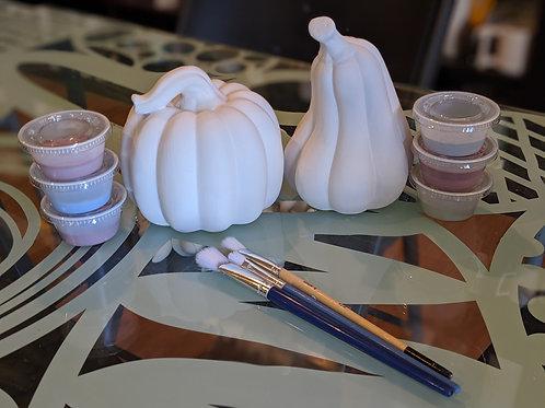 Set of 2 Pumpkin/Gourd