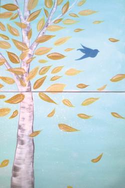 Couple's Birch Tree