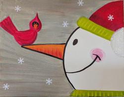 Kids Frosty & Cardinal
