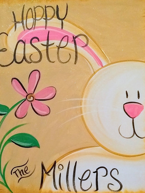 Hoppy Easter Canvas