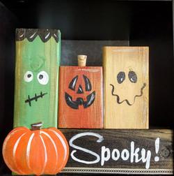 Wooden Spooky