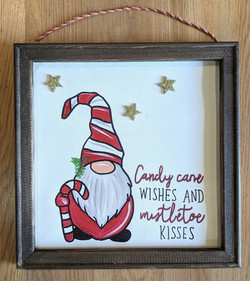 Candy Cane Gnome