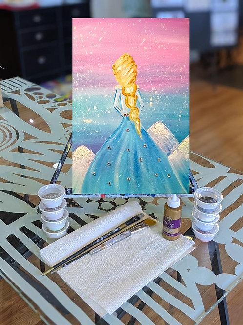 Canvas To-Go Kit: Ice Princess