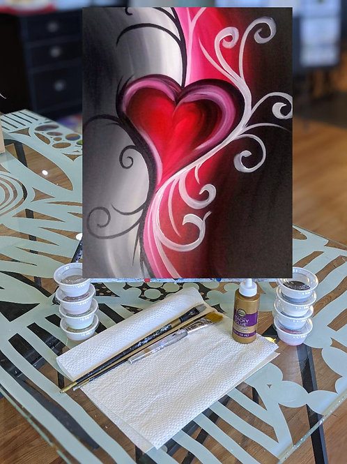 Canvas To-Go Kit: Tattooed Love