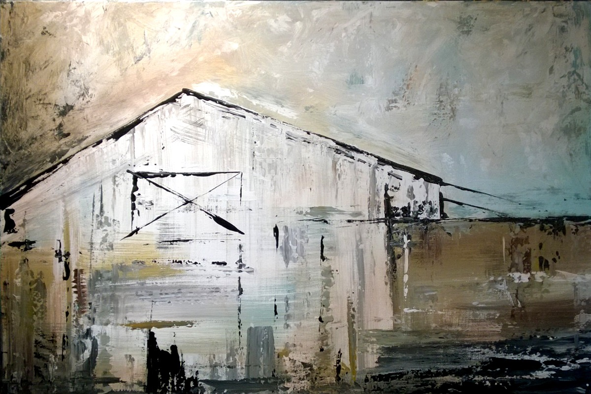 Abstract Barn