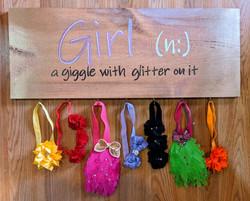 Girl Noun Board