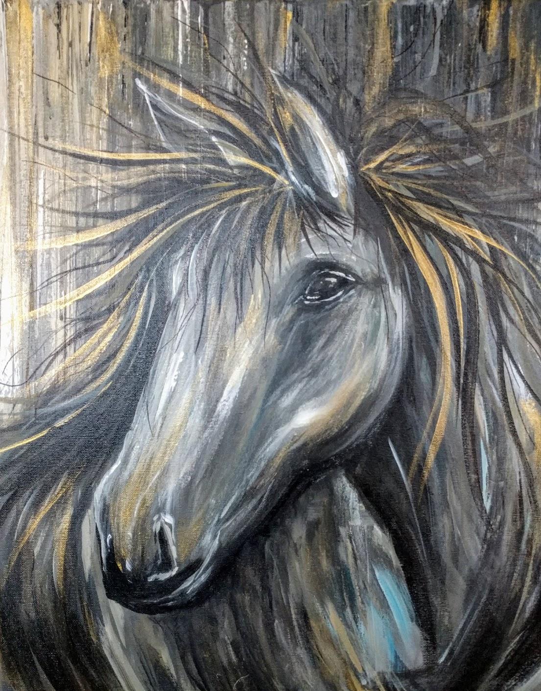 Metallic Horse