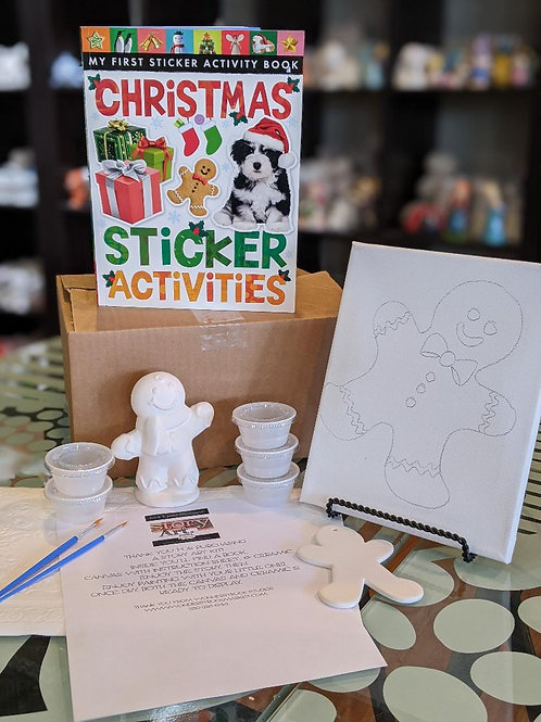 StoryART Kit:  Christmas Sticker Book