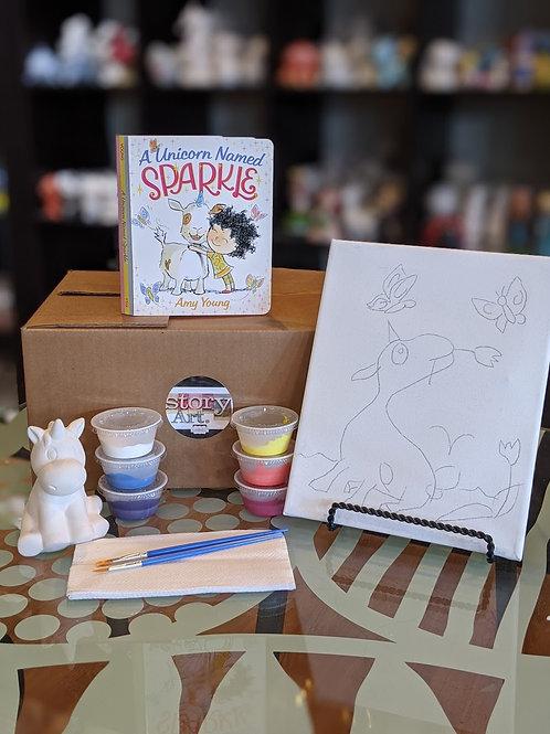 StoryART Kit: A Unicorn Named Sparkle