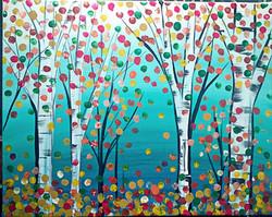 Birch Fingerprint Trees