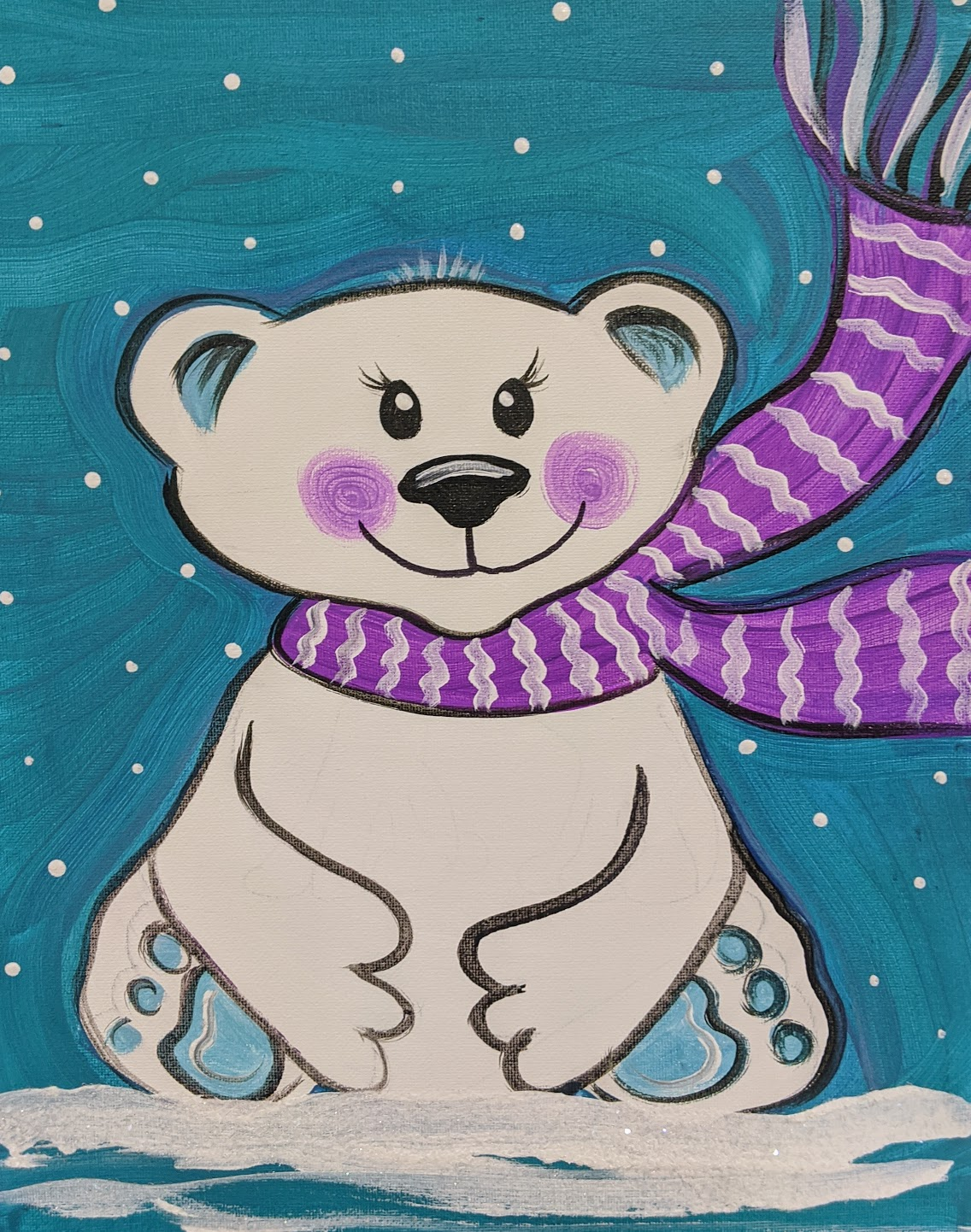 Girly Polar Bear
