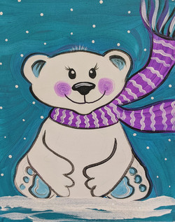 Girly Polar Bear
