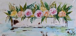Farmhouse Flower Box on Canvas