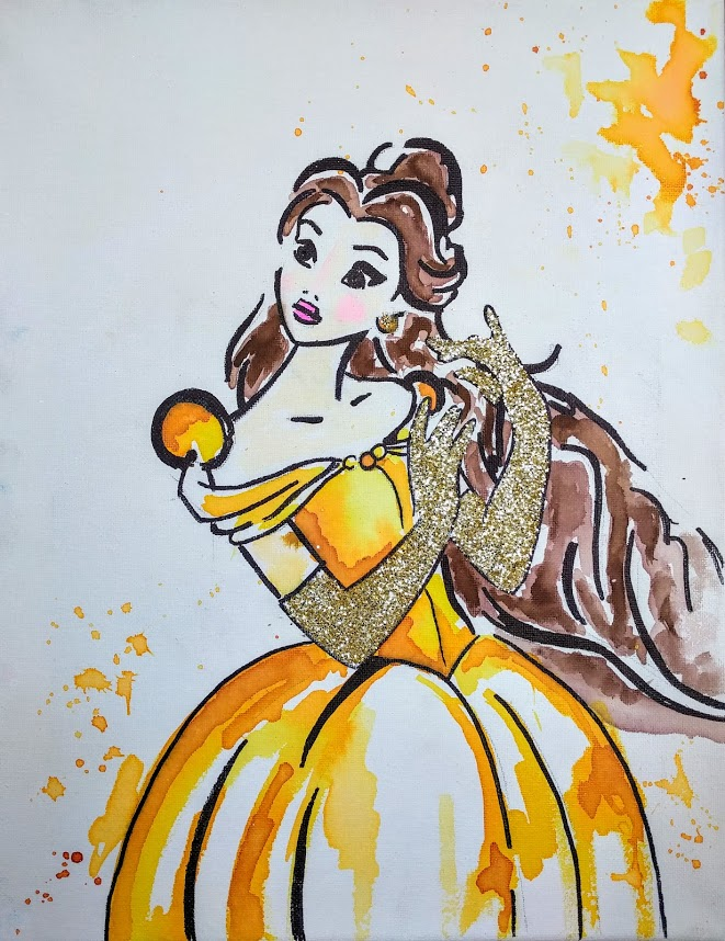 Watercolor Princess