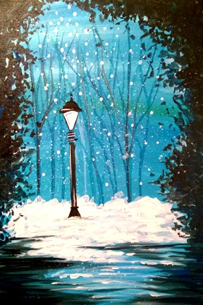 By The Light of The Lamp Post