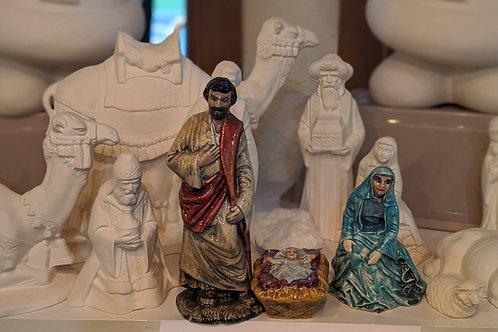 Entire Nativity Set