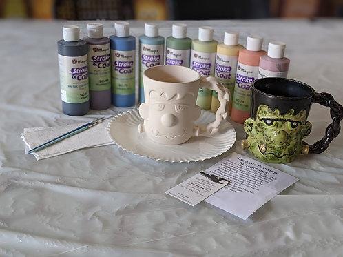 Ceramic Frankenstein Mug