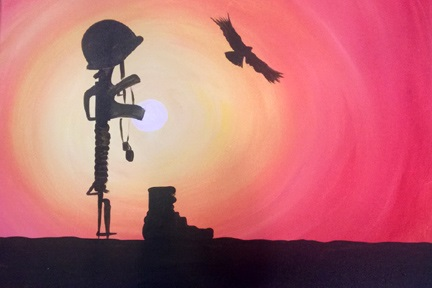 Military Sunset