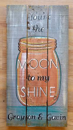 Moon to my SHINE