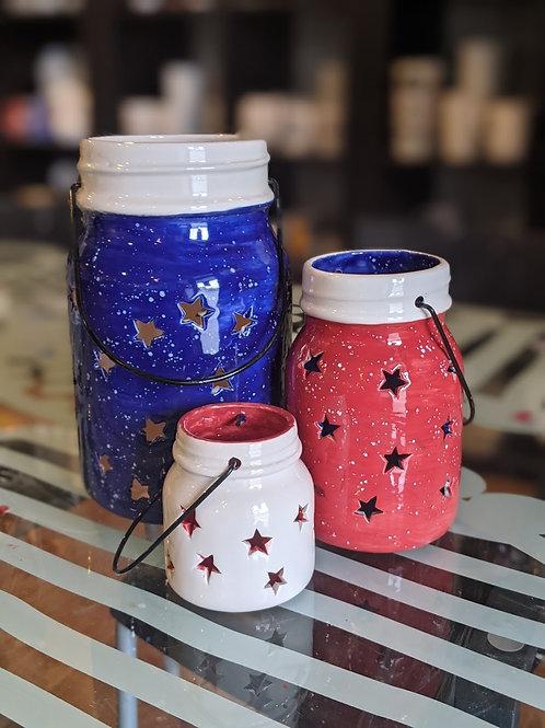 Set of 3 Star Jars