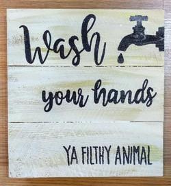 Wash Your Hands Square Pallet