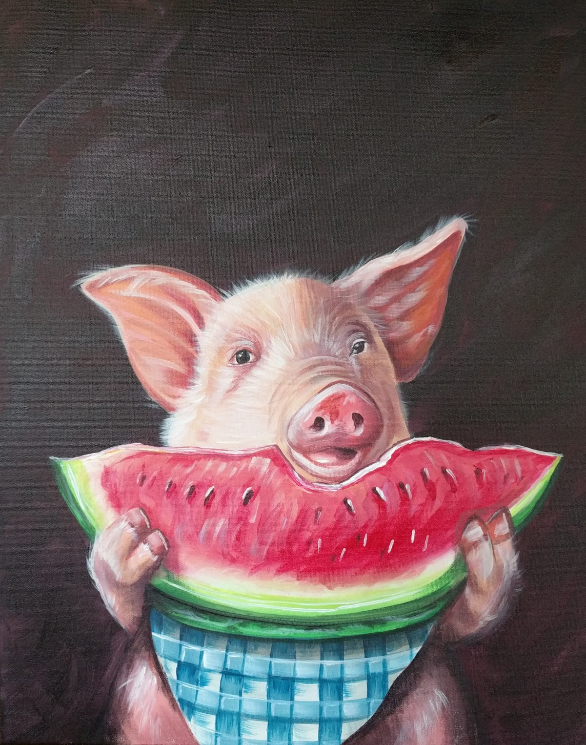Watermelon Piggy