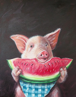 Watermelon Piggy
