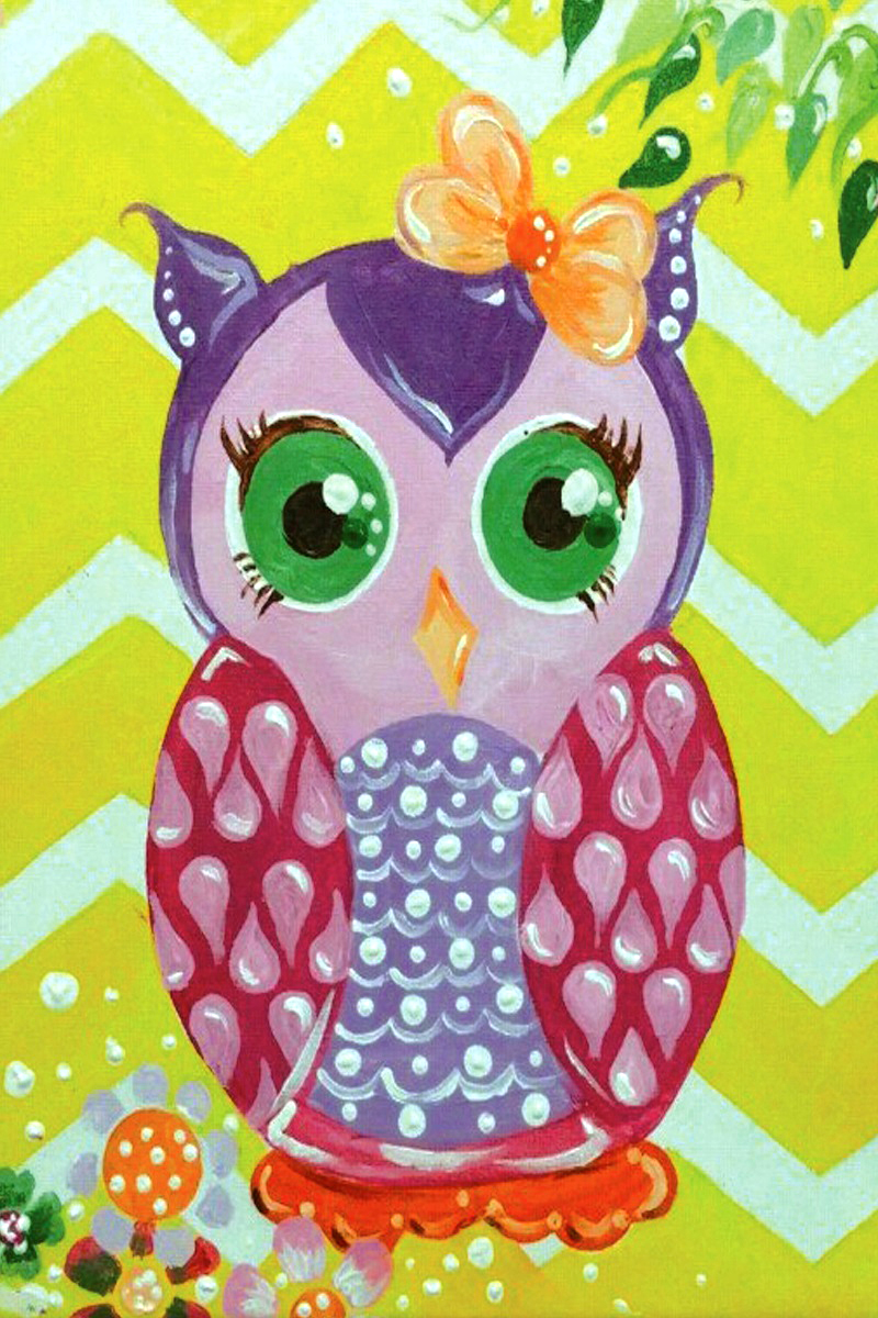 Sweet Pea Owl