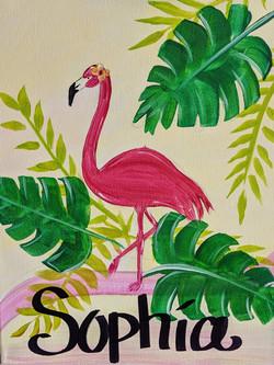 Kids flamingo