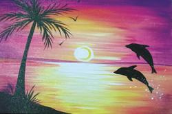 Dolphin's Sunset