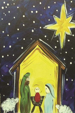 Kids Nativity Scene