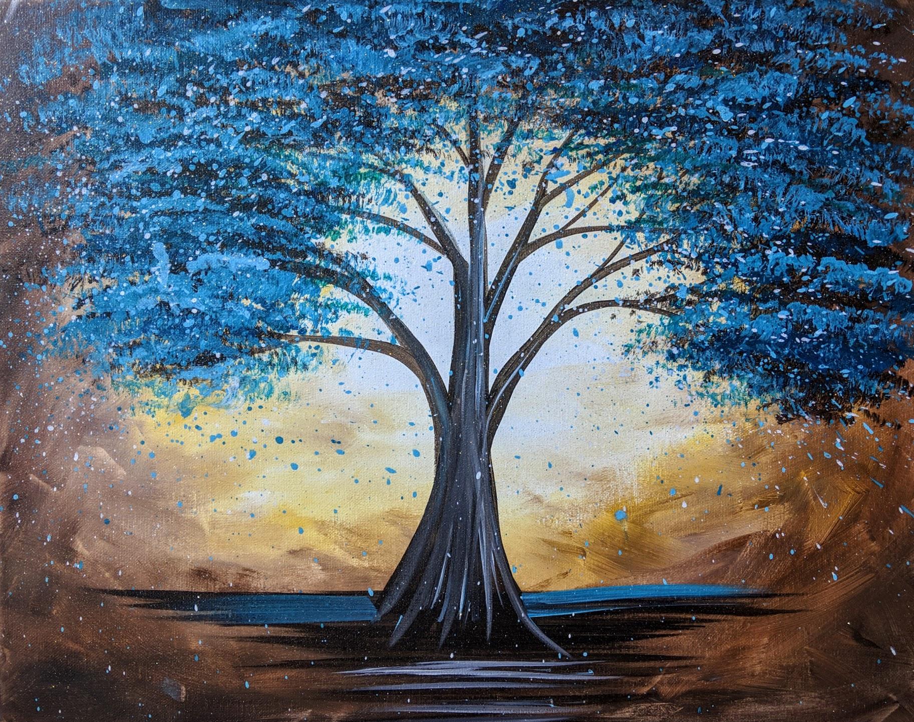 Teal Tree 2