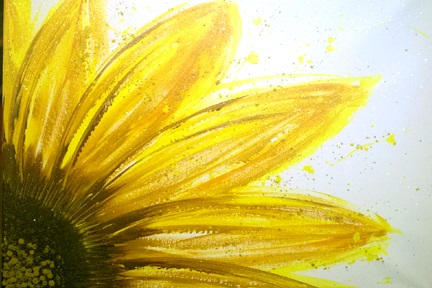 Sunflower Splat