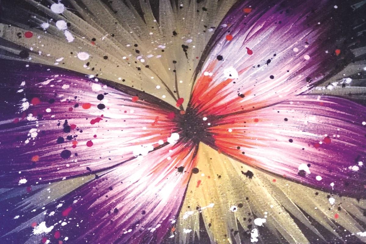 Pollock butterfly