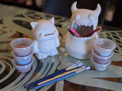 Monster Bank & Pencil Holder
