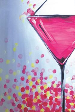 Bubblegum Martini