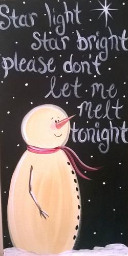 Star Light Snowman