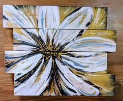 Golden Bloom on Pallet