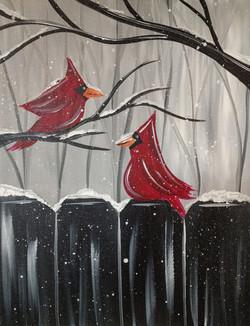 Two Cardinals Monocramatic