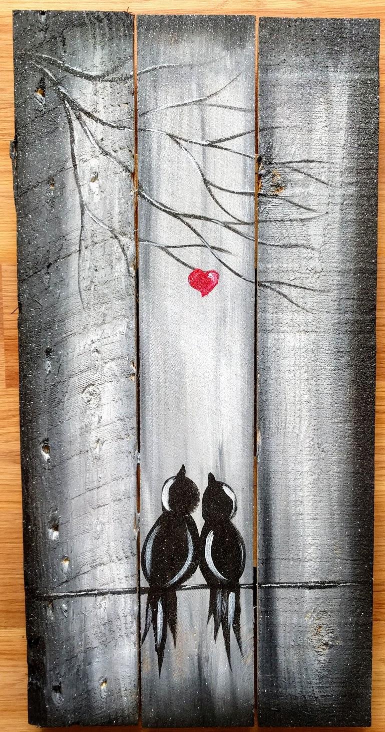 Love Birds Pallet